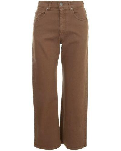 Brązowe mom jeans Parosh