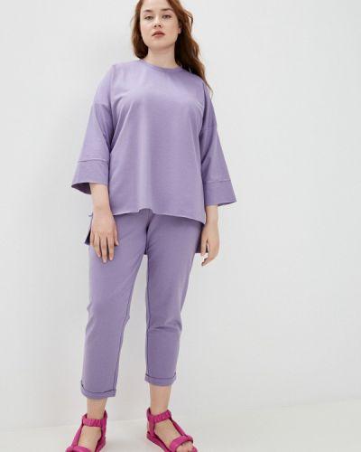 Фиолетовый спортивный спортивный костюм Chic De Femme