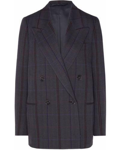 Пиджак черный в полоску Acne Studios