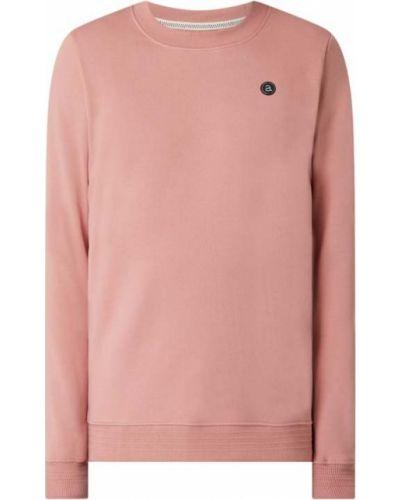 Prążkowana różowa bluza bawełniana Anerkjendt