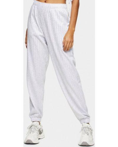 Спортивные брюки - белые Topshop