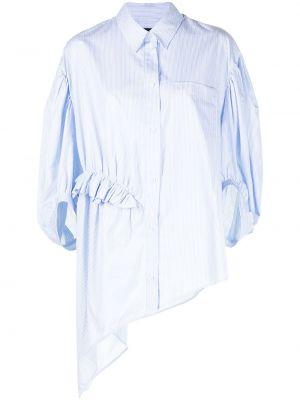 Рубашка в полоску - синяя Simone Rocha