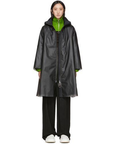 Дождевик черный с карманами Ienki Ienki