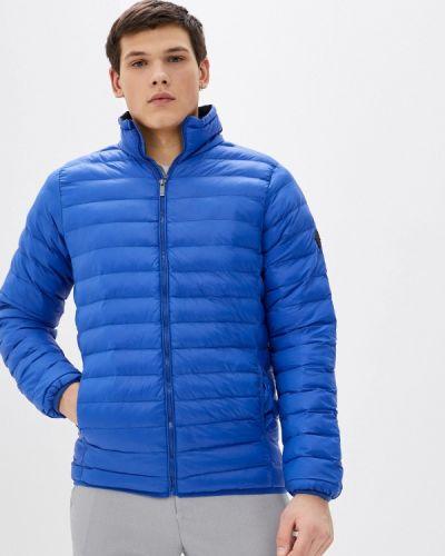 Утепленная синяя куртка Blue Seven