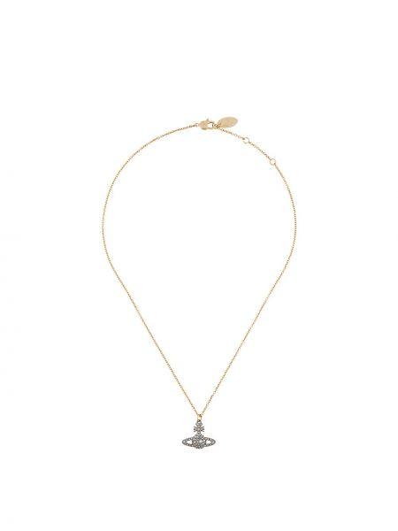 Naszyjnik złoto Vivienne Westwood