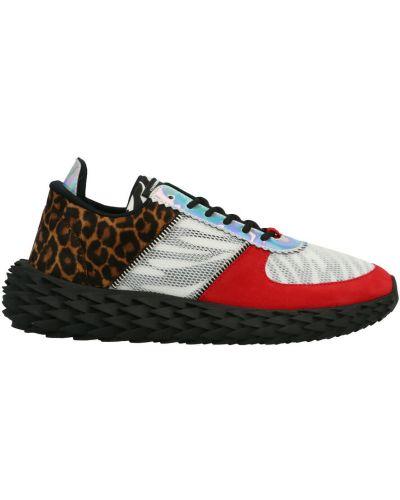 Czerwone sneakersy Giuseppe Zanotti
