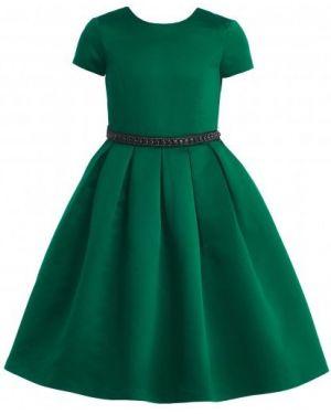 Платье с поясом на торжество мерцающее Gulliver Wear