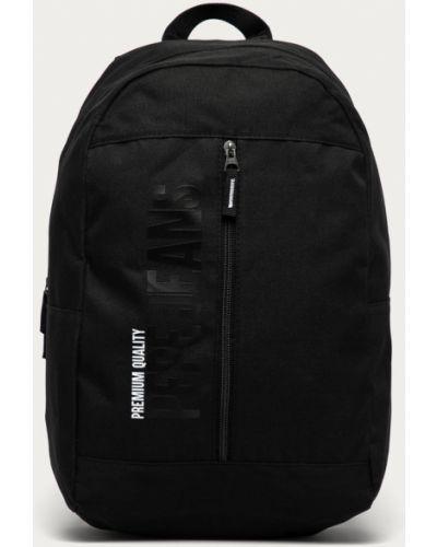 Czarny plecak z printem Pepe Jeans