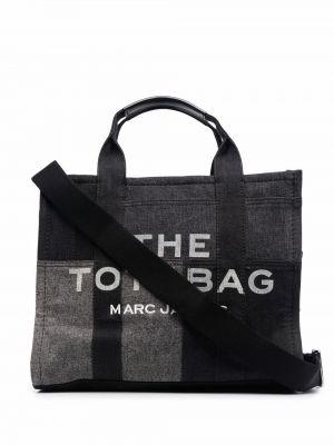 Черная джинсовая косметичка Marc Jacobs