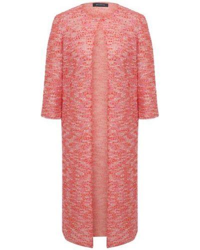Нейлоновое розовое пальто с подкладкой St. John