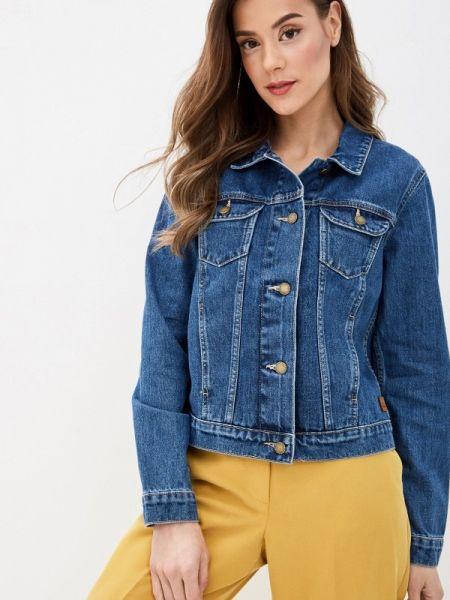 Джинсовая куртка весенняя синий Roxy