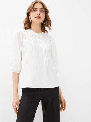 Белая блузка с длинными рукавами Bruebeck