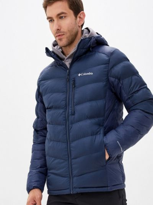 Утепленная куртка - синяя Columbia