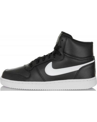 Черные кеды на шнуровке Nike