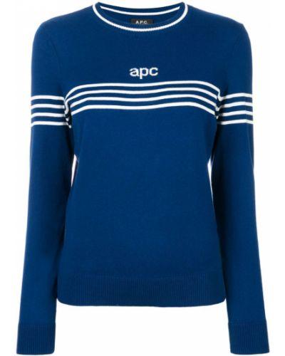 Синий джемпер A.p.c.