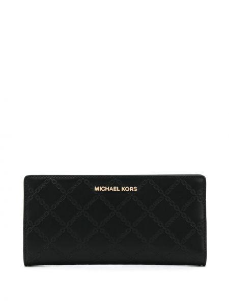 Torebka skórzany czarny Michael Michael Kors