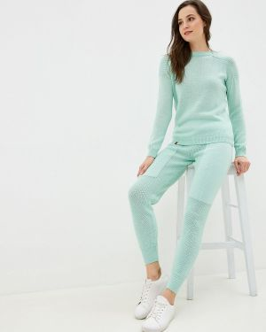 Костюм вязаный зеленый Knitman