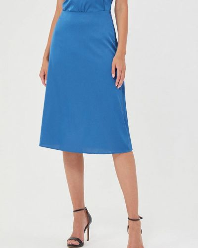 Синяя юбка свободного кроя Mari Vera