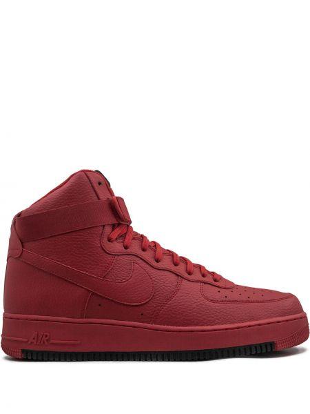 Wysoki sneakersy skórzane sznurowane Nike