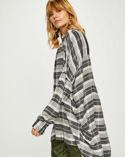 Блузка с длинным рукавом из вискозы оверсайз Answear