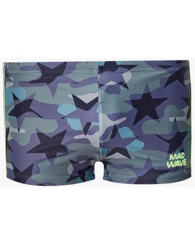 Зеленые плавки-боксеры Madwave
