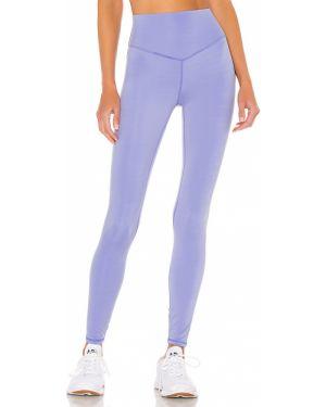 Niebieskie spodnie z nylonu Lovewave