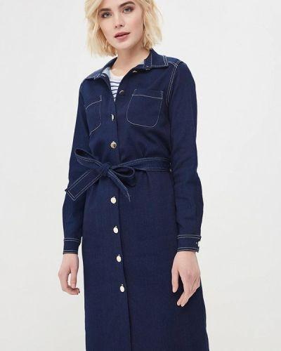 Джинсовое платье весеннее синее Rodier