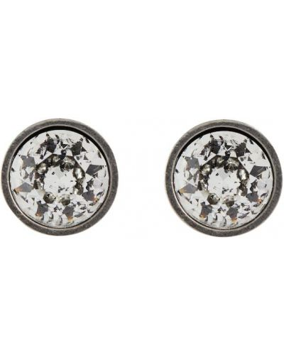 Серьги - серебряные Balenciaga