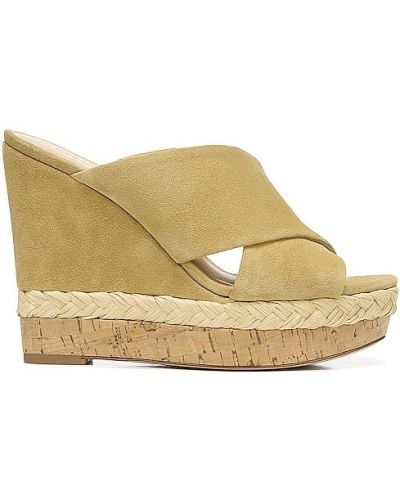 Sandały sportowe na platformie - beżowe Veronica Beard