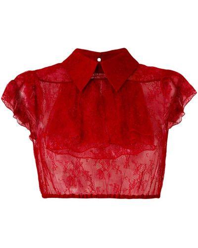 Рубашка прозрачная из вискозы N21