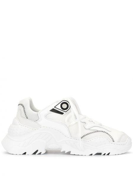 Sneakersy białe zasznurować N°21