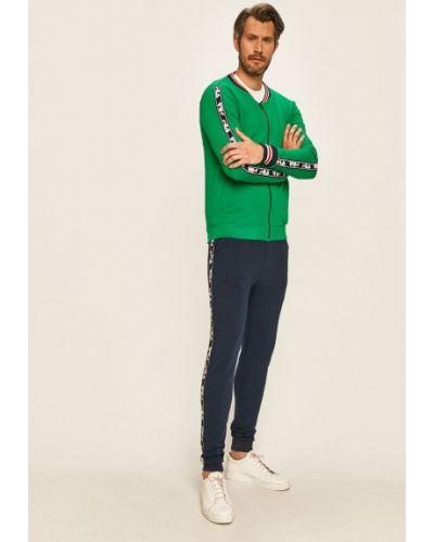 Zielony dres dzianinowy Fila