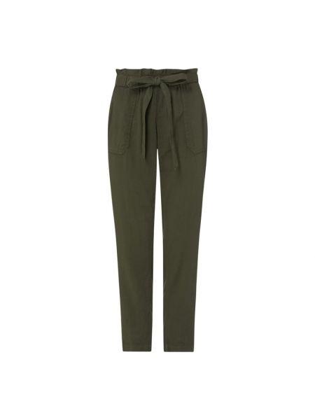 Zielone spodnie z wiskozy Rosner