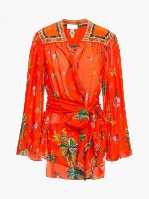 Шелковая блузка Camilla