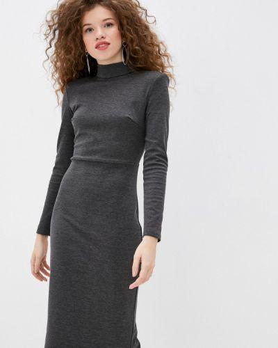 Платье - серое Gepur