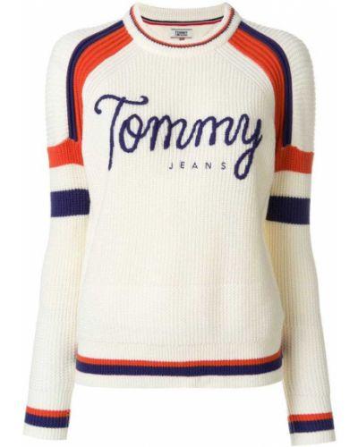 Бежевый свитер облегающий Tommy Hilfiger