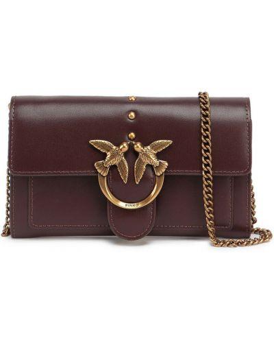 Złoty portfel - czerwony Pinko