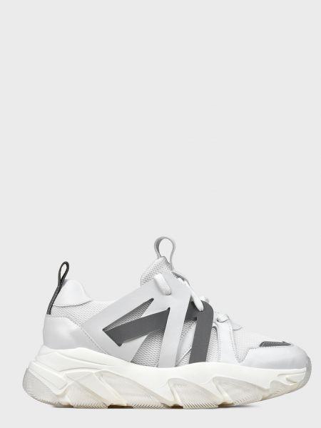 Кожаные кроссовки - белые L'estrosa