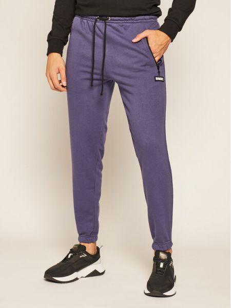 Spodnie dresowe - fioletowe Diamante Wear