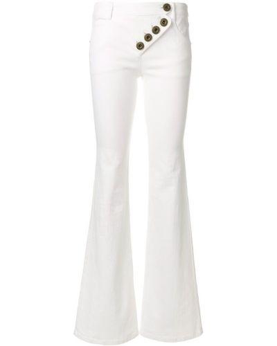 Расклешенные джинсы на пуговицах эластичные Chloé