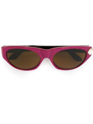 Муслиновые розовые солнцезащитные очки Emanuel Ungaro Pre-owned