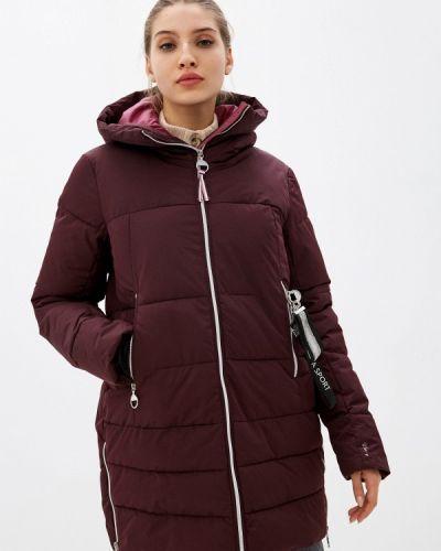 Утепленная красная куртка Luhta