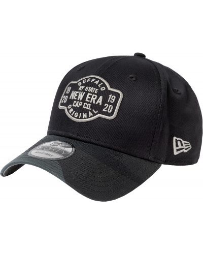 Хлопковая черная бейсболка New Era