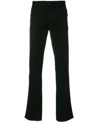 Расклешенные джинсы классические на пуговицах Prada