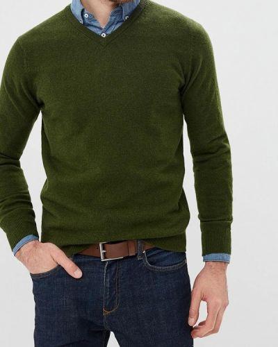 Пуловер зеленый Cortefiel