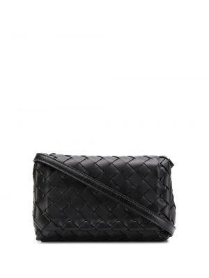 Кожаная сумка - черная Bottega Veneta