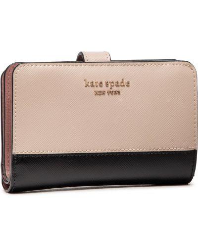 Beżowy portfel Kate Spade