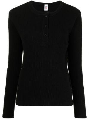 Хлопковая футболка - черная Re/done