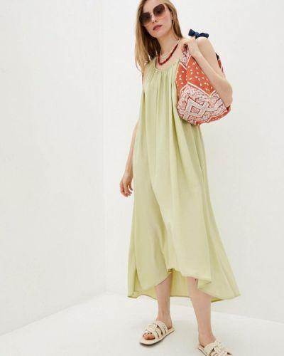 Повседневное зеленое платье Dolcedonna