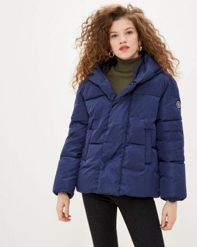Утепленная синяя куртка Sh